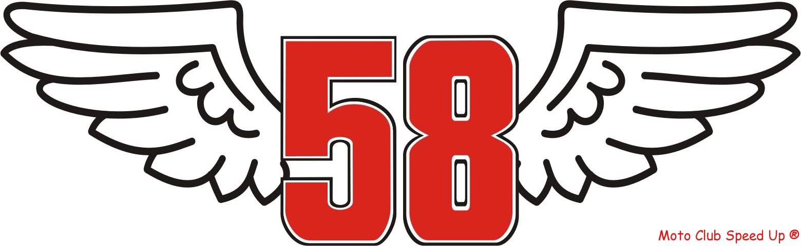 58 Marco Simoncelli X Sempre